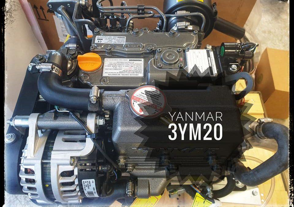 Installation d'un moteur Yanmar 3YM20 sur un Dehle…
