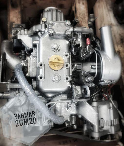À vendre moteur Yanmar 2GM20 . Révisé.  Inverseur …