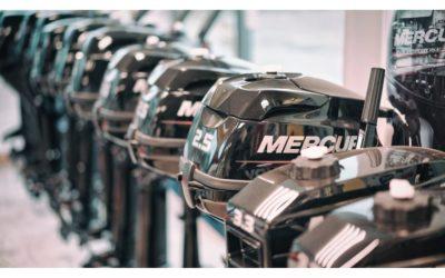 Nous avons des moteurs MERCURY en stock ; du 2.5 a…