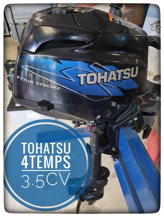 Nous avons en dépôt vente un moteur Tohatsu 3.5 CV…