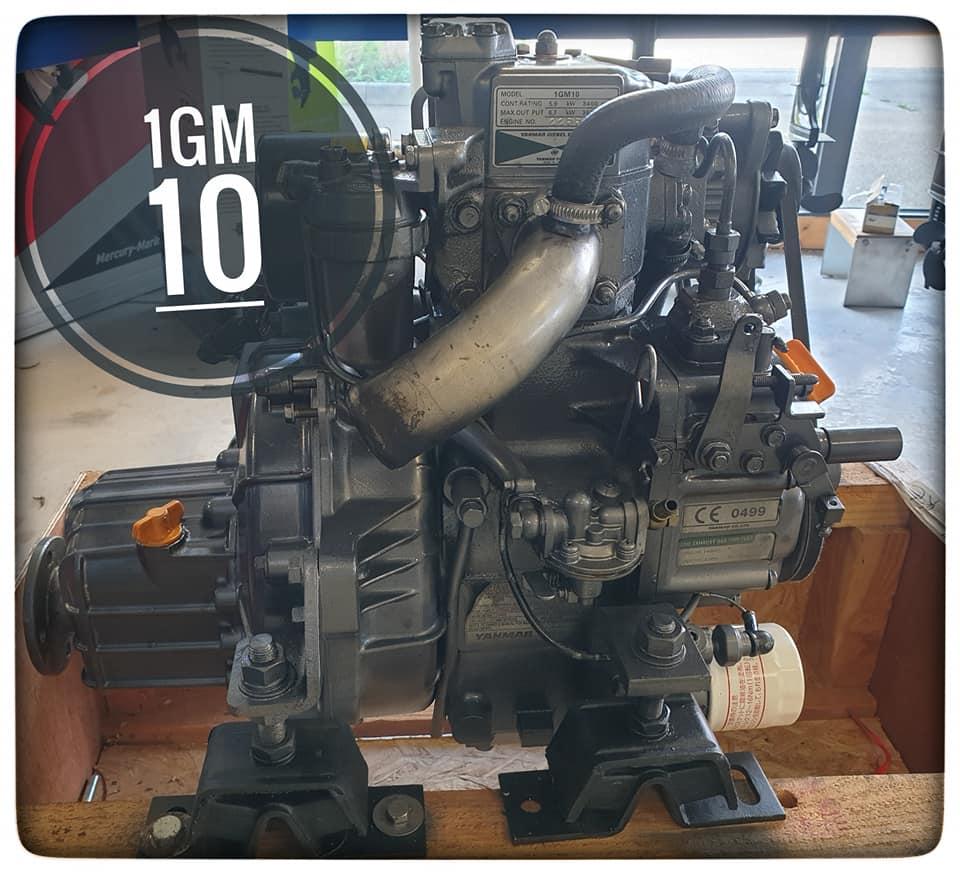 A vendre moteur occasion Yanmar 1GM 10 : 2 700 eur…